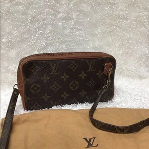 💯 AUTHENTIC LOUIS VUITTON MARLY BANDOULIERE